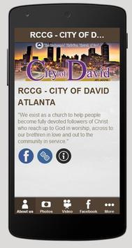 RCCG - CITY OF DAVID ATLANTA poster
