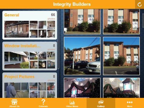 Integrity Builders Pricing App apk screenshot