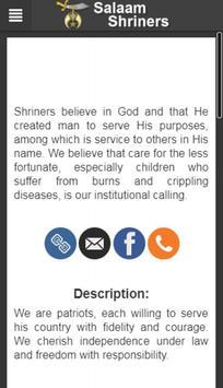 Salaam Shriners screenshot 1