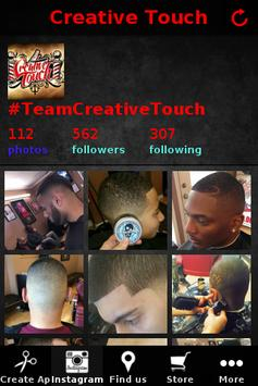 Creative Touch Barbershop apk screenshot