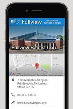 Fullview Missionary Baptist poster