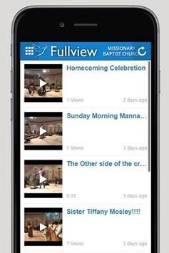 Fullview Missionary Baptist apk screenshot