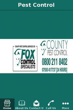 County Pest Control Services poster
