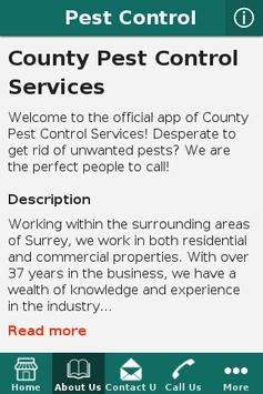 County Pest Control Services screenshot 1