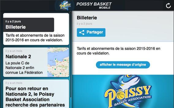 Poissy Basket screenshot 3