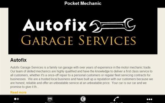 Pocket Mechanic screenshot 3