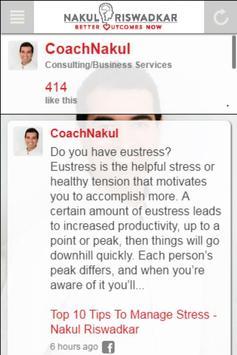Nakul's Personal Coaching screenshot 2