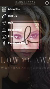 Blow Me Away Blow Dry Bar poster