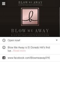 Blow Me Away Blow Dry Bar apk screenshot