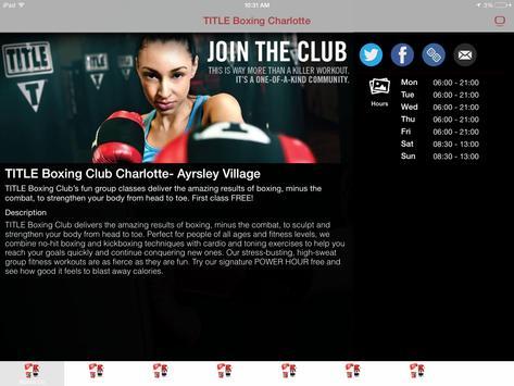 Title Boxing Ayrsley screenshot 13