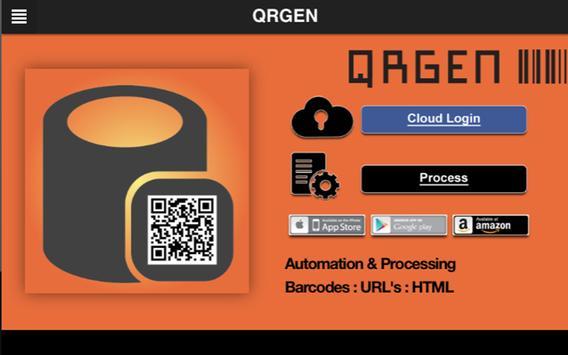 QRGEN apk screenshot