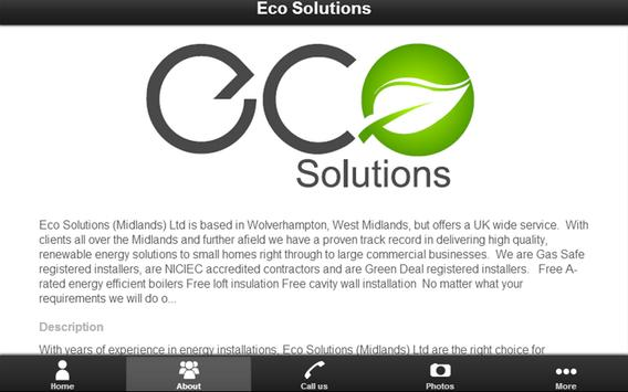 Eco Solutions Limited screenshot 5