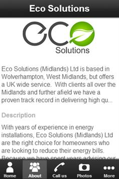 Eco Solutions Limited screenshot 1