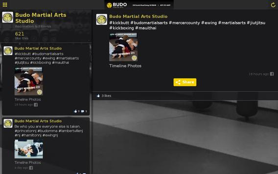 Budo Martial Arts Studio apk screenshot