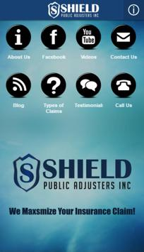 Shield Public Adjusters poster