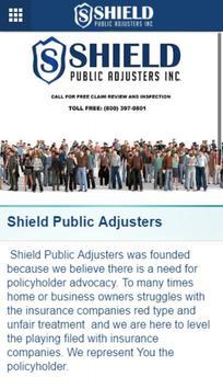 Shield Public Adjusters screenshot 4