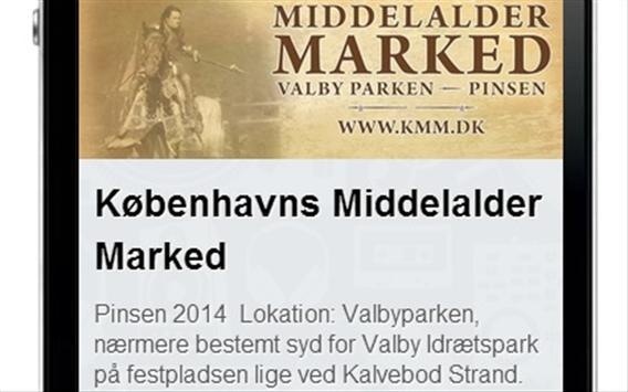 Københavns Middelalder Marked apk screenshot