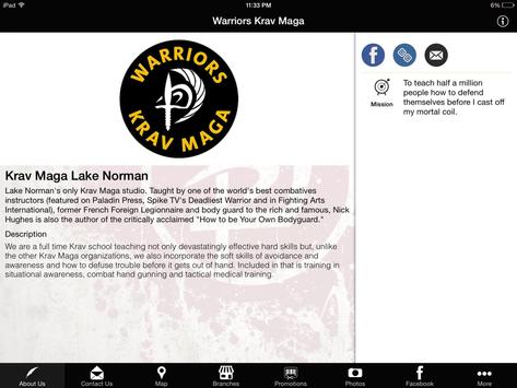 Warriors Krav Maga apk screenshot