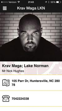 Warriors Krav Maga poster