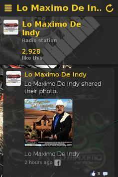 Lo Maximo De Indy poster
