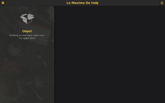Lo Maximo De Indy apk screenshot