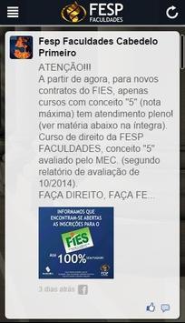 Fesp Faculdades apk screenshot