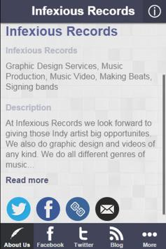 Infexious Records screenshot 1