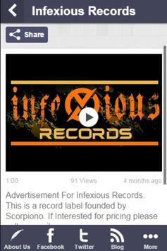 Infexious Records screenshot 3
