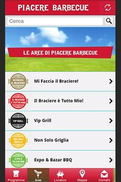 Piacere Barbecue poster