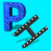 Pixels and halides icon