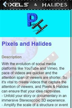 Pixels and halides poster