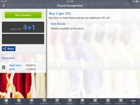 Found Consignment Boutique screenshot 4