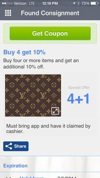 Found Consignment Boutique screenshot 2