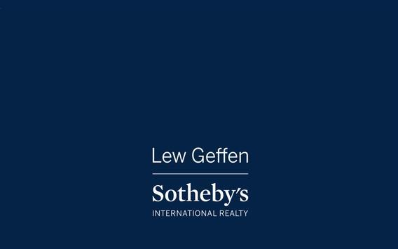 Lew Geffen Sotheby's CTN poster