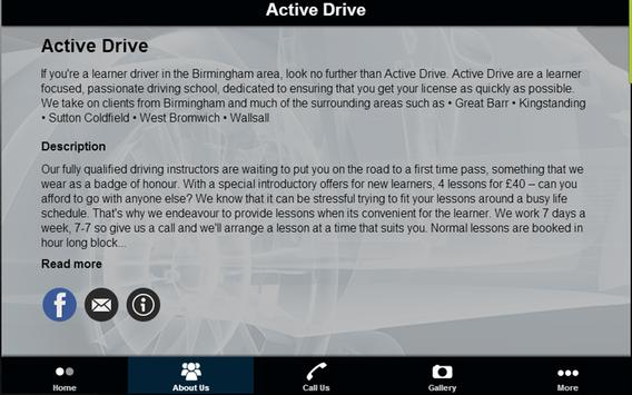 Active Drive Driver School apk screenshot