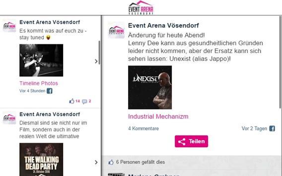 Event Arena Vösendorf apk screenshot
