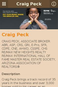 Craig Peck poster