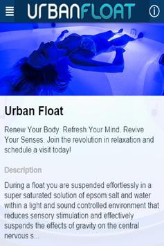 Urban Float poster