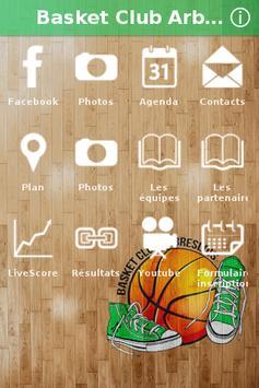 Basket Club Arbreslois poster