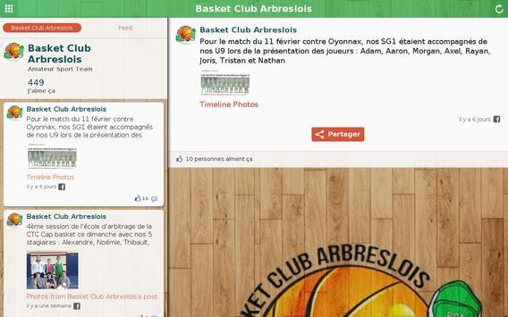 Basket Club Arbreslois screenshot 2