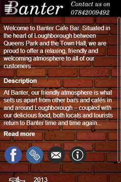 Banter Cafe Bar screenshot 1