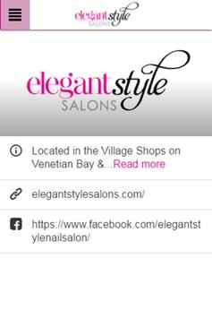 Elegant Style Nail Salon poster