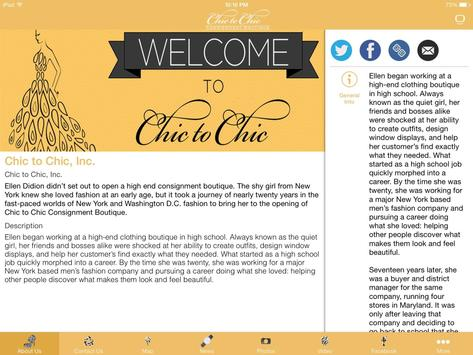 Chic To Chic Consignment apk screenshot