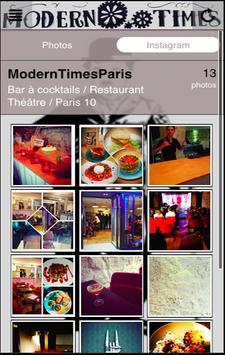 Modern Times Paris poster