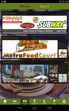 MetraFoodCourt screenshot 1
