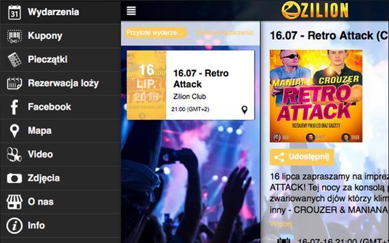 Zilion CLUB screenshot 2