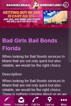 BAD GIRLS BAIL BONDS FLORIDA poster