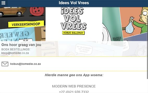 Idees Vol Vrees apk screenshot