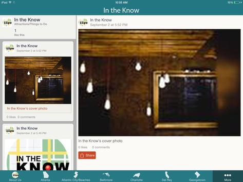 In The Know apk screenshot