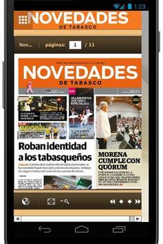 Novedades de Tabasco apk screenshot